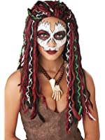 California Costumes Voodoo Priestess Adult Wig-