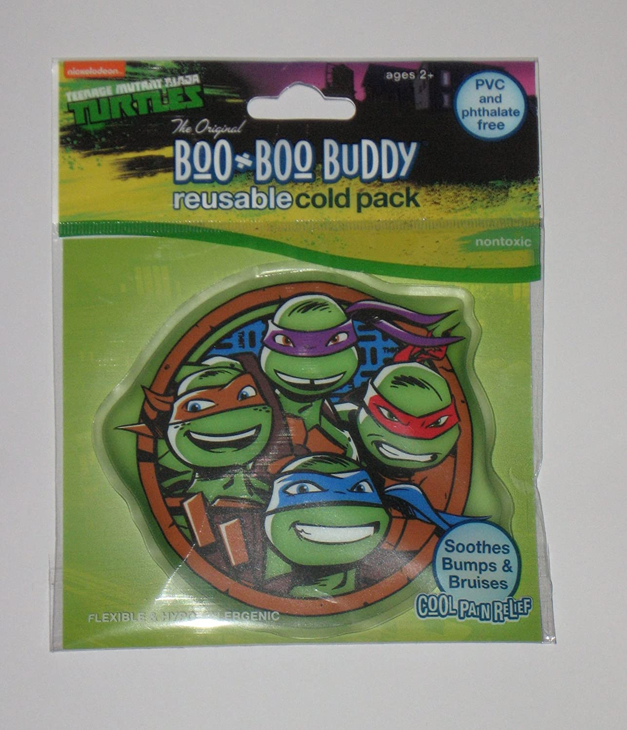 Boo-Boo Buddy Reusable Cold Pack, Nickelodeon(Teenage Ninja Turtles)