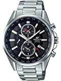 Casio Edifice Analog Black Dial Men's Watch-EFB-302JD-1ADR (EX325)