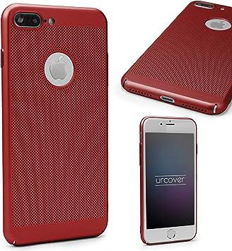 Urcover Funda Apple iPhone 7 Plus Carcasa Ultrafina Malla Rojo Case Móvil Smartphone: Amazon.es: Electrónica