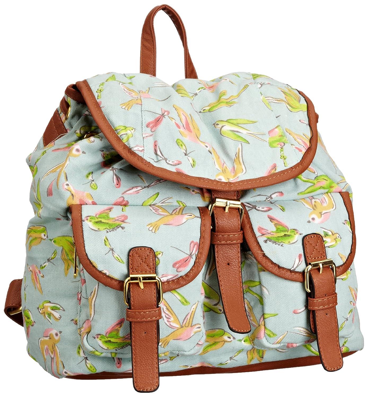 SWANKYSWANS® Kerry Garden Birds Backpack - Monedero niña ...