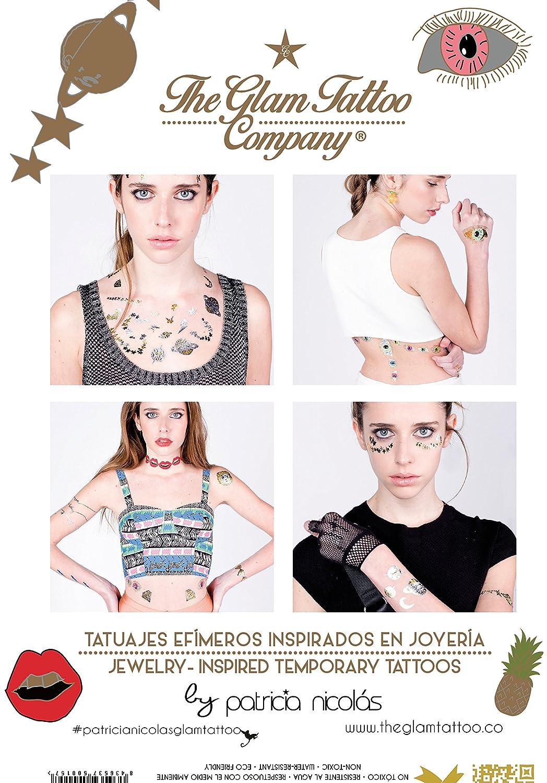 The Glam Tattoo Company- Tatuaje metalico Temporal (Comunicación ...