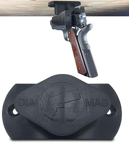 LLC Gun Magnet 35lb Rated Car Holster