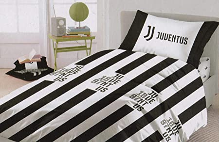 Juventus Cotton Bedding Set Official Product Juve New Collection Single Amazon Co Uk Kitchen Home