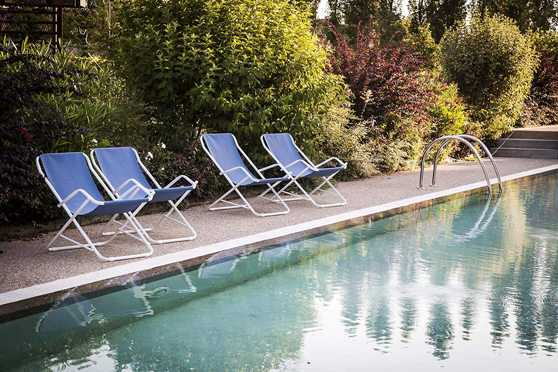 NEFFY SHOP Chaise à Bascule Swing Citron 7401 14, Vert Citron, 85x63x101 cm