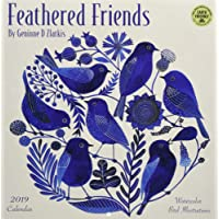 2019 Feathered Friends: Watercolor Bird Illustrations