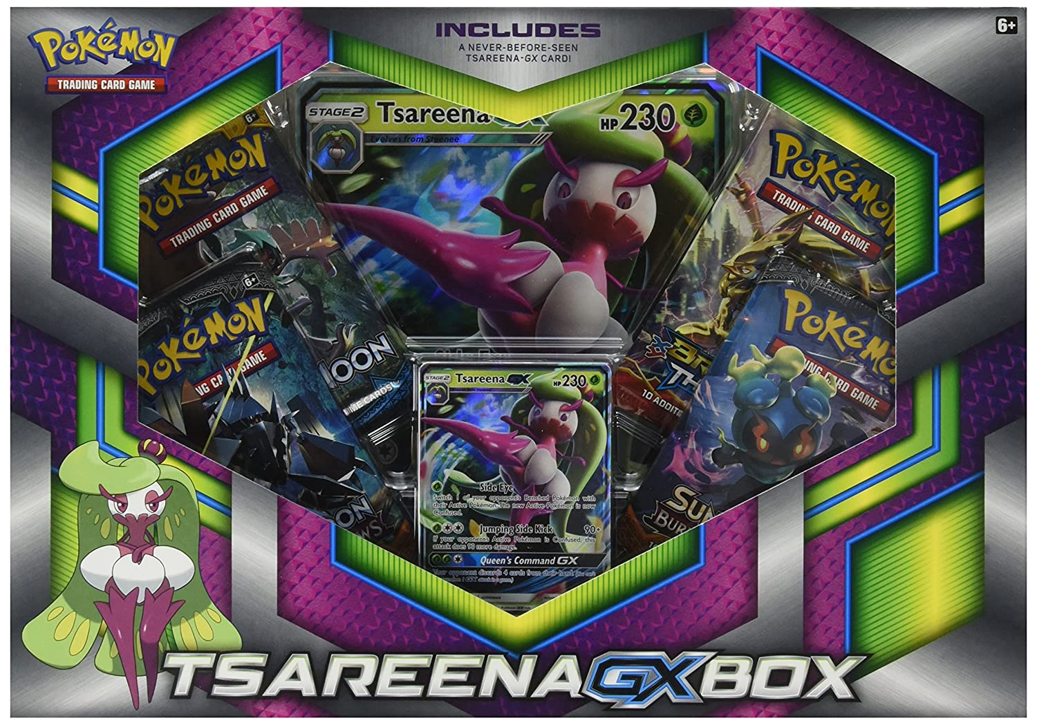 Pokemon Tsareena-GX Collectible Cards RMAAD 290-80309