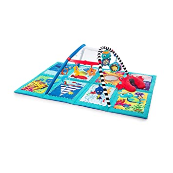 9a805a8fc218 Amazon.com   Baby Einstein Discovery Seas Multi Mode Activity Gym   Baby