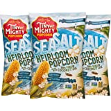 Tiny But Mighty Sea Salt Heirloom Popcorn - Popped, Pack of 3