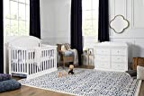 Million Dollar Baby Classic Foothill/Louis 6-Drawer Dresser, White