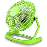 CSL - Ventilatore USB | ventilatore da tavolo / ventola | PC / notebook | in verde