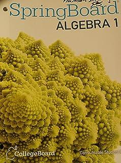 Amazon springboard mathematics common core edition course 2 springboard algebra consumable student edition fandeluxe Choice Image