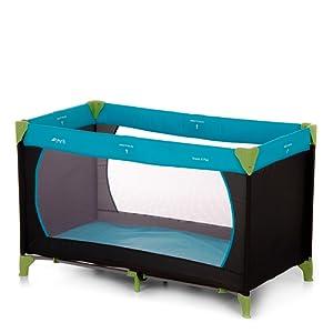 Hauck Lit Parapluie Dream'N Play 11, bleu eau