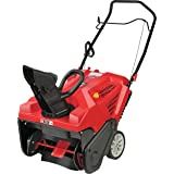 Troy-Bilt Squall 179cc Electric Start 21-Inch Single Stage Snow Thrower