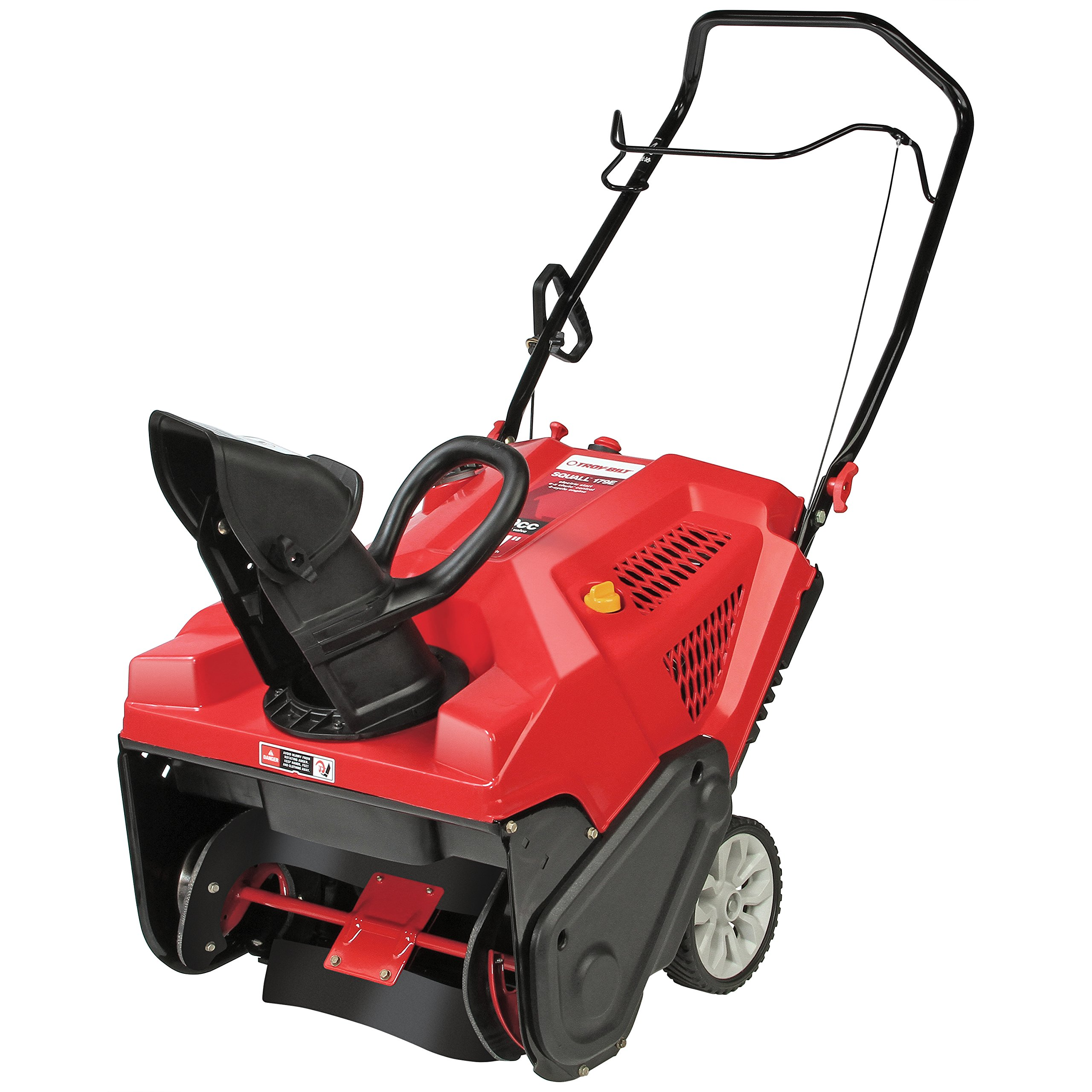 Troy-Bilt Squall 179cc Electric Start 21-Inch Single Stage Gas Snow Thrower