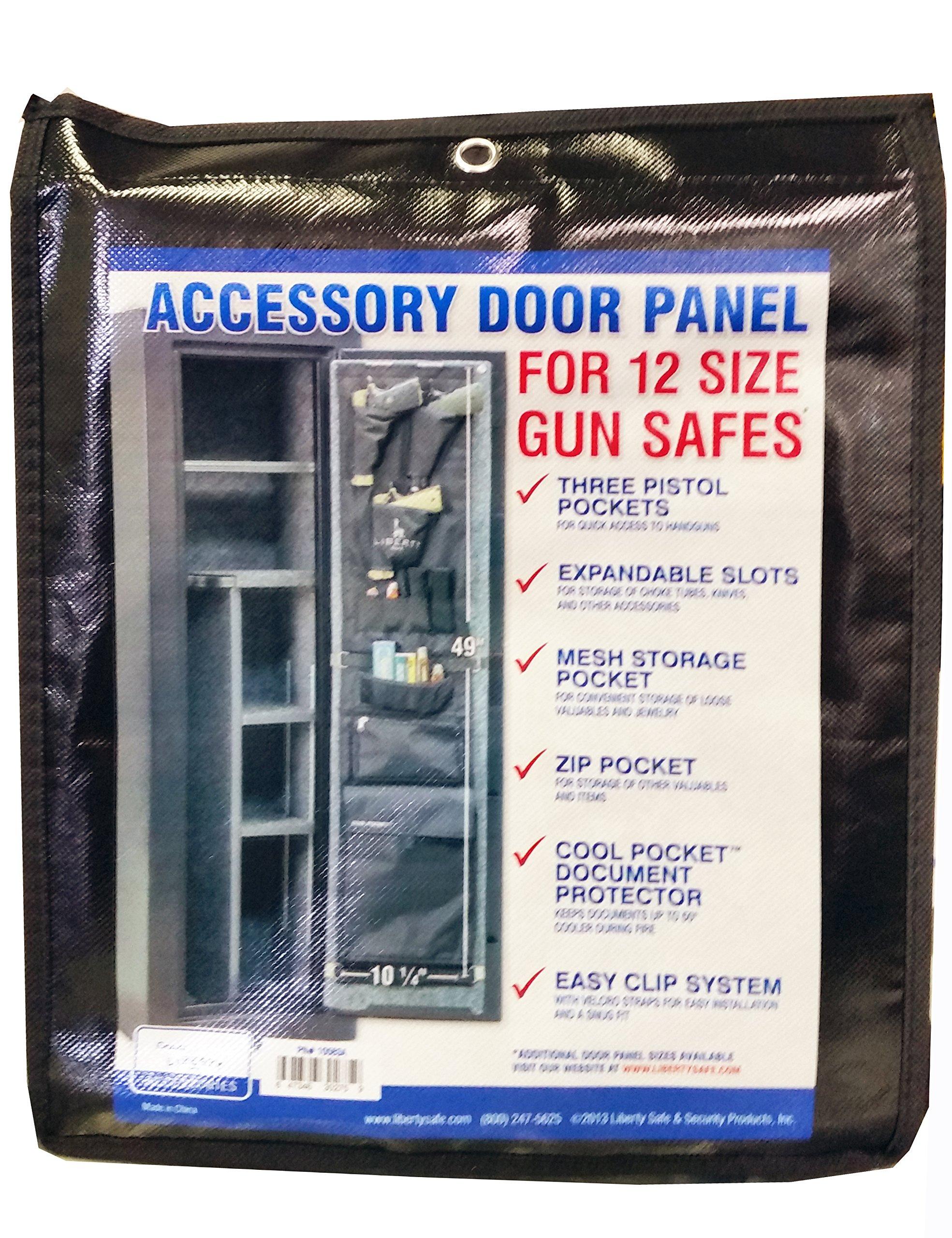 Liberty Safe Door Panel for EXTERNAL HINGE 12 Size Gun Safes Fits USA Made Centurion 12 by Liberty Safe