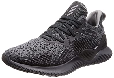 Adidas Men s Alphabounce Beyond M Carbon Grethr Cblack Running Shoes-12 UK  98f5639d4