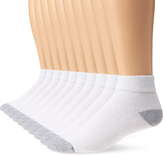 OLD MILL MENS NO SHOW  SOCKS CF-10 SIZE 6-12 WHITE 6 PACK