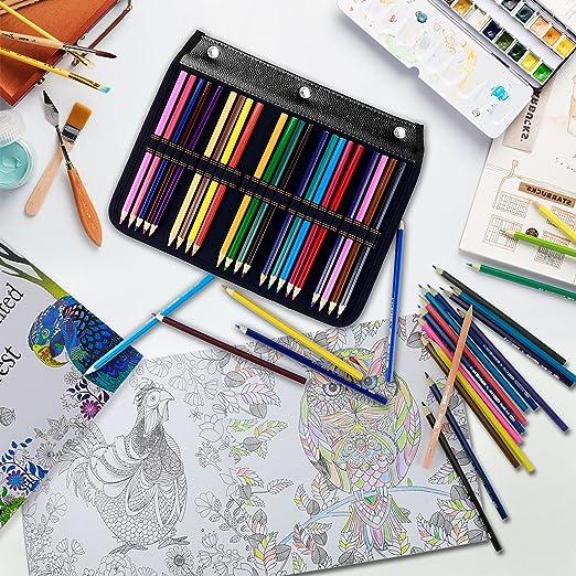 youshares 54 ranuras lápiz funda - cartón diseñado lápiz ...