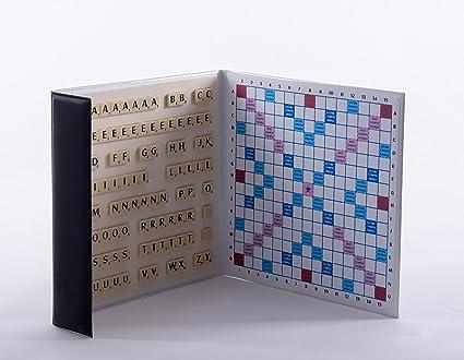 Scrabble magn/étique Format Voyage de Poche Made in France Bleu