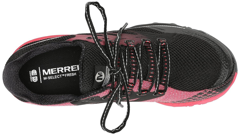 Merrell All Out Out Out Charge Damen Trekking- & Wanderhalbschuhe Trekking- & Wanderschuhe Schwarz (schwarz Geranium) 36 EU 0a383c