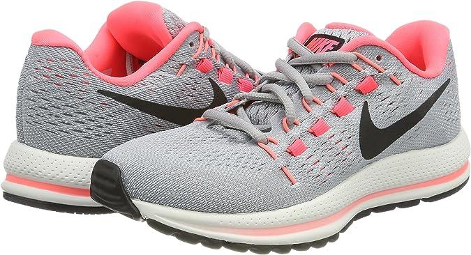 Nike W Air Zoom Vomero 12 (N), Zapatillas de Trail Running para Mujer, Gris (Wolf Grey/Black/Pure Platinum/Hot Punch 002), 43 EU: Amazon.es: Zapatos y complementos