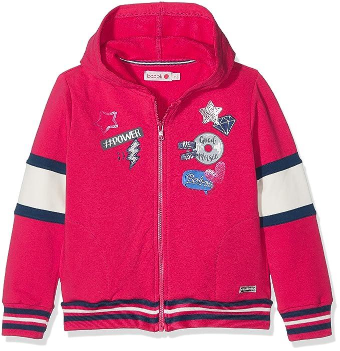 boboli Fleece Jacket Stretch For Girl, Sudadera para Niñas: Amazon.es: Ropa y accesorios