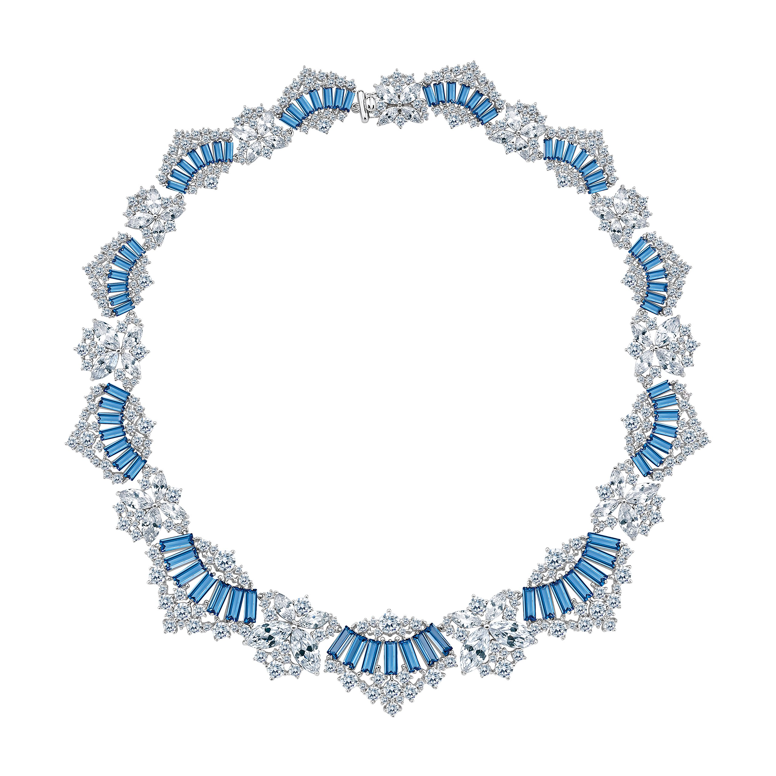 MIYUMIRO Women's Royal Ballerina Necklace - Royal Blue Collection