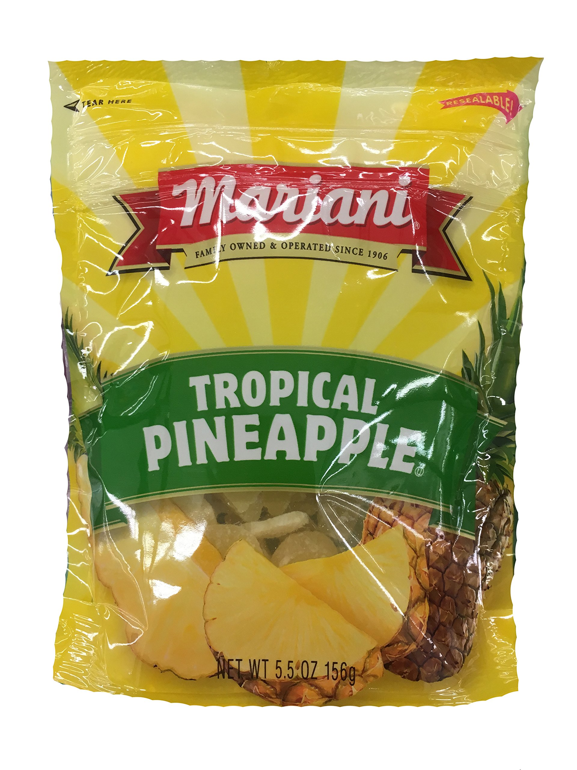 Mariani Tropical Pineapple 5.5oz (Pack of 3) by Mariani