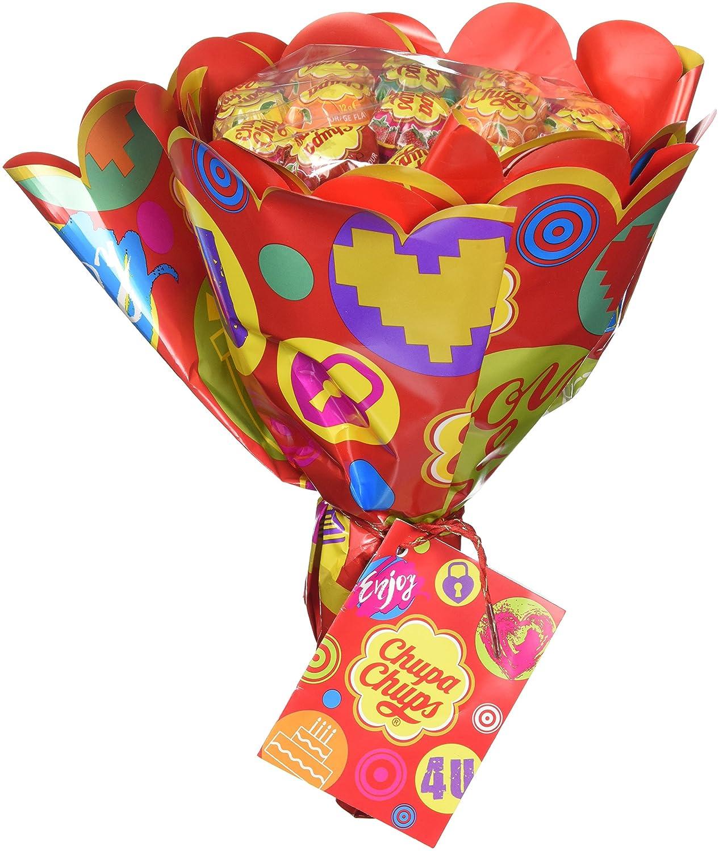 Chupa Chups Lollipop Flower Bouquet (19 lollipops): Amazon.co.uk ...