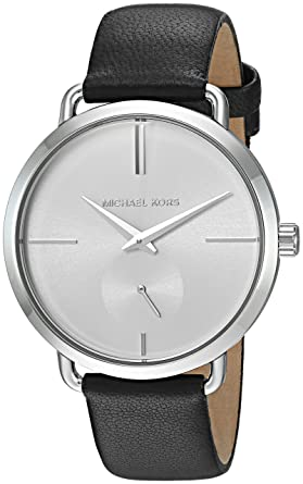 84816783d3cc Amazon.com  Michael Kors Women s Portia Black Watch MK2658  Michael Kors   Watches