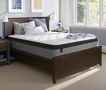 Amazon Com Sealy Response Essentials 13 Inch Plush Euro Pillow Top