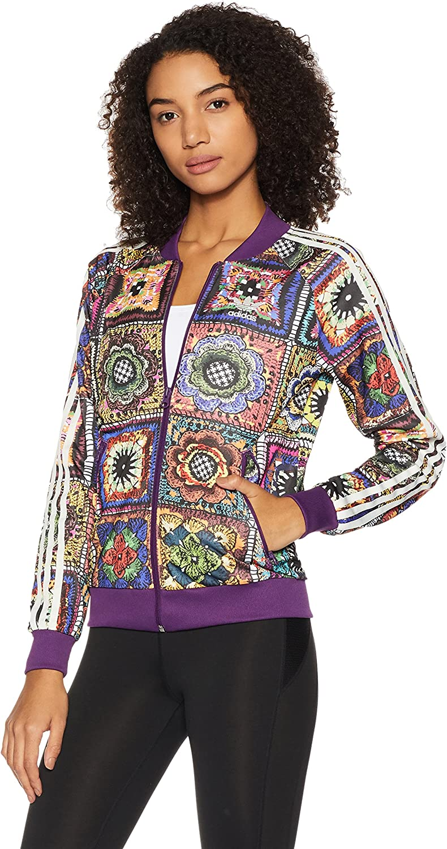 adidas damen crochita supergirl track jacke 42