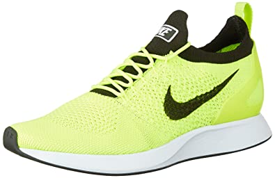 100% authentic 4ff65 7c685 Nike Men s Air Zoom Mariah Flyknit Racer Running Shoes-Volt White Sequoia-
