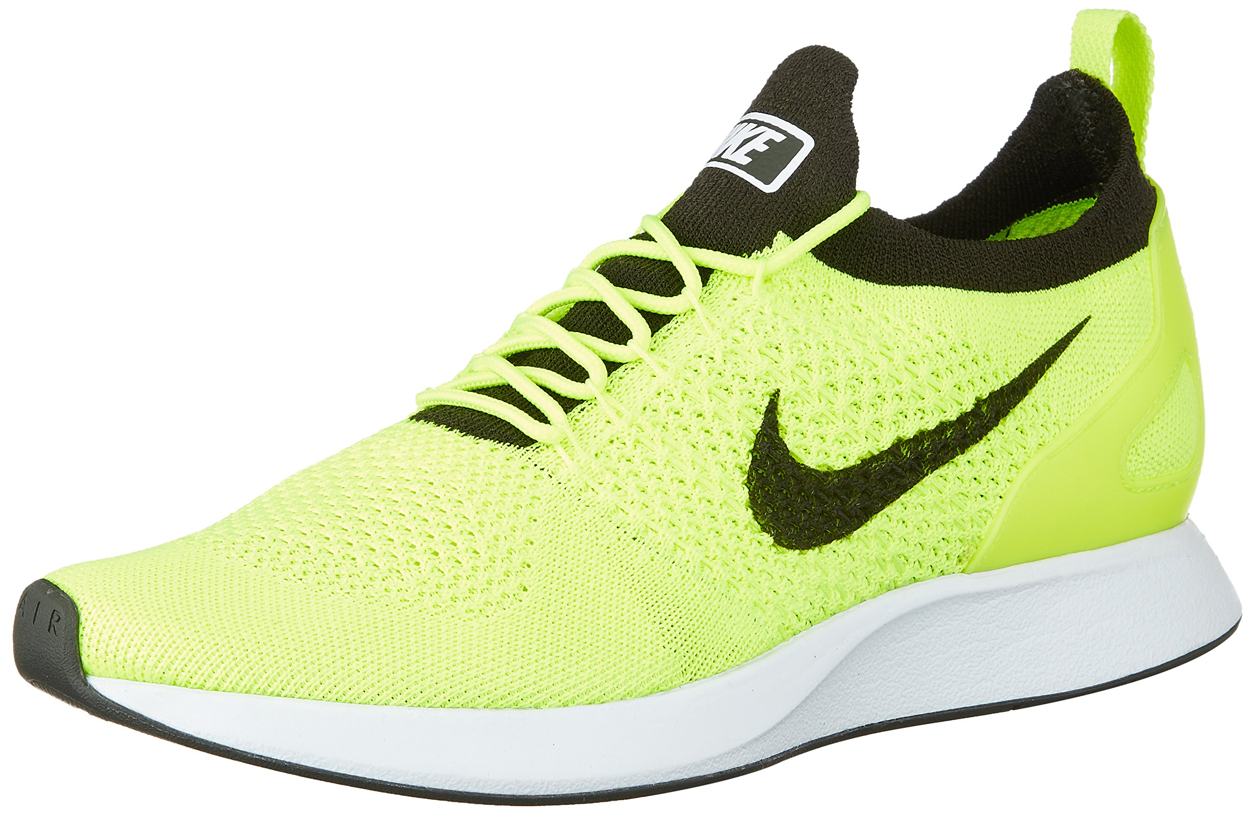 4cfb8cf2d080 Galleon - Nike Men s Air Zoom Mariah Flyknit Racer Running Shoes-Volt White  Sequoia-10.5