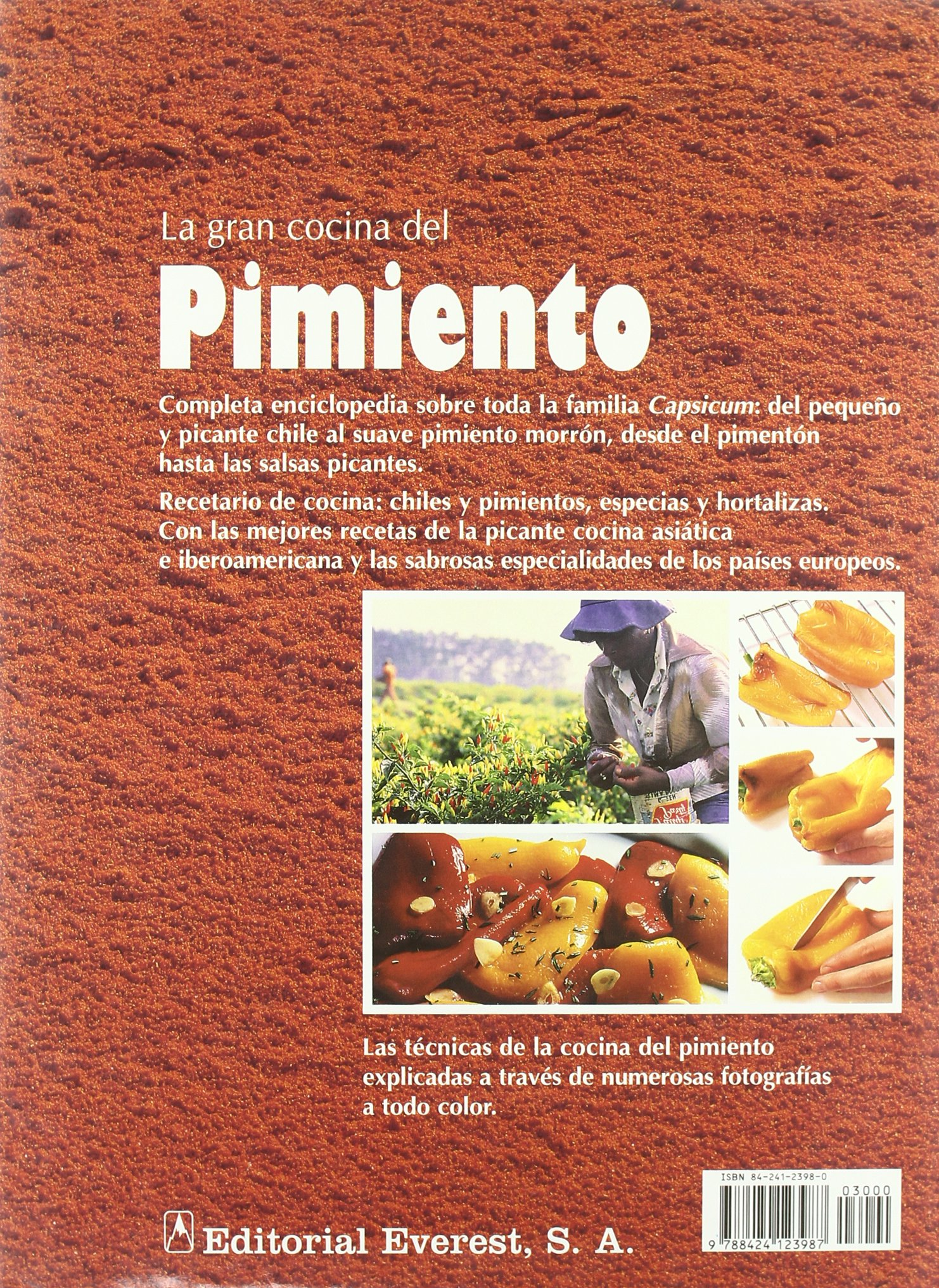 La Gran Cocina del Pimiento (Spanish Edition): Christian Teubner: 9788424123987: Amazon.com: Books