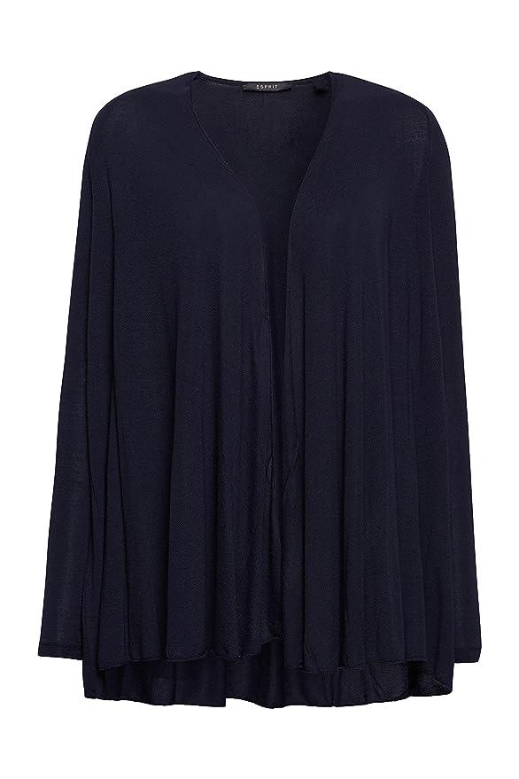 ESPRIT Collection mit Elastan - Camiseta para Mujer, Color Blau (Dark Navy 420), Talla 36: Amazon.es: Ropa y accesorios
