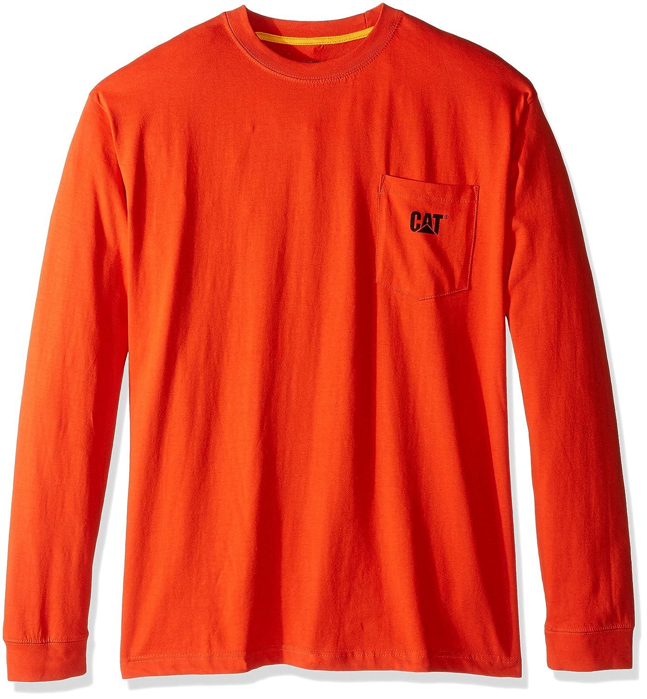 Caterpillar SHIRT メンズ B01ELSV5TQ XX-Large / Tall|Adobe Orange Adobe Orange XX-Large / Tall