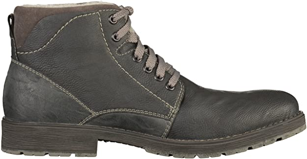 Mens 33821 Classic Boots, Marron/Navy, 6.5 UK Rieker