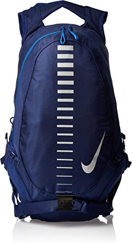 Nike Course Running Backpack Blue Void Gym Blue Silver