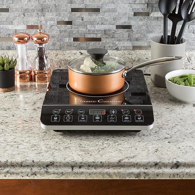 Amazon.com: Multiuso 1800 W portátil Inducción Cocina ...