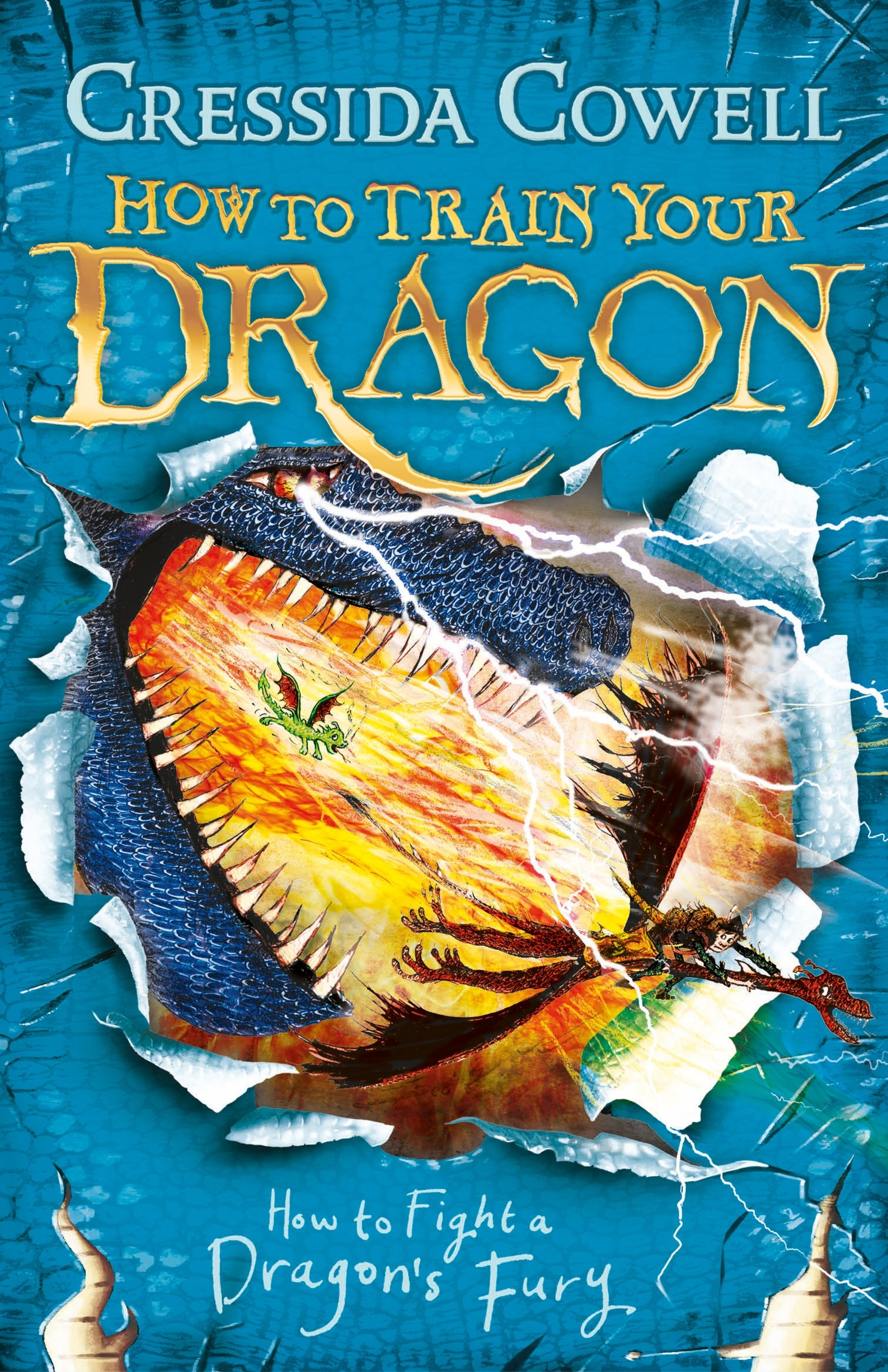 How to Fight a Dragon's Fury: Book 12 (How to Train Your Dragon, Band 12)