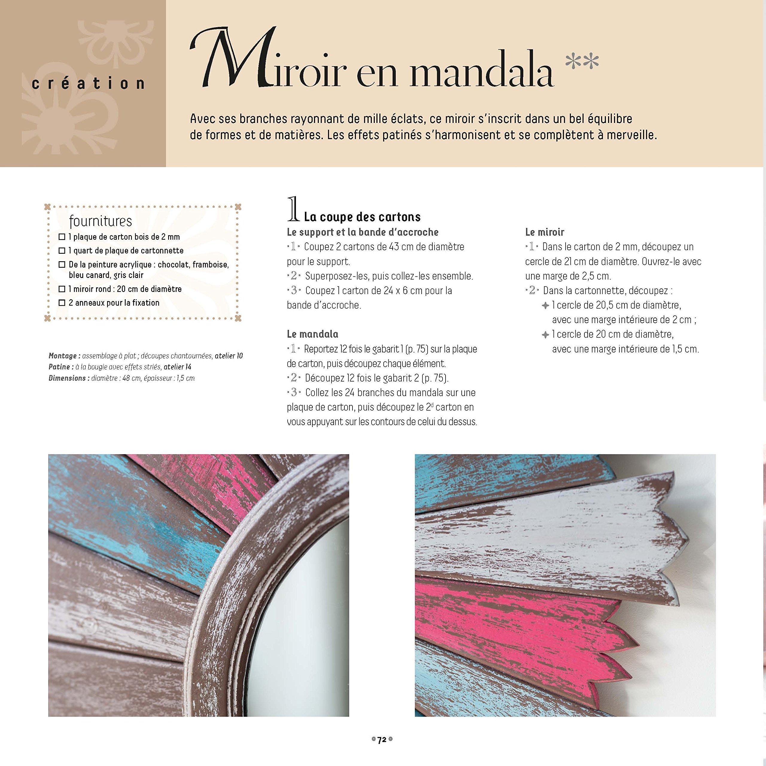 Amazon.fr - Carton bois Objets   meubles patinés - Olivier Mokette, Cecile  Thouvard - Livres 5d5088783ef