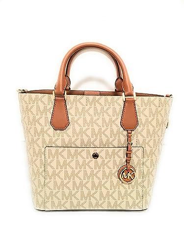 f0043ba7f7ce Michael Kors Greenwich Large Grab Bag: Handbags: Amazon.com