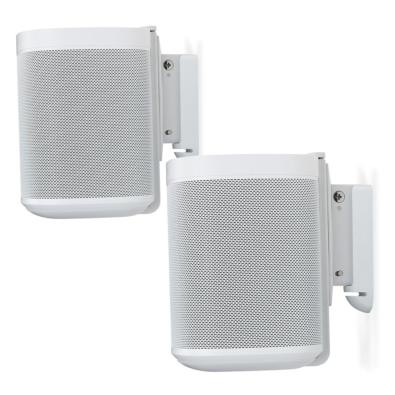 Flexson S1-WMX2 White Wall Mount For Sonos One - Pair S1WM2011