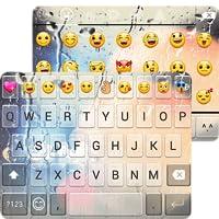 Free Glass Emoji Keyboard Theme