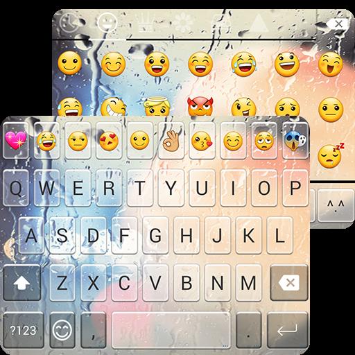 Free Glass Emoji Keyboard ()