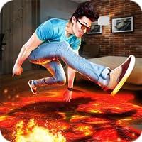 The Floor Is Lava 3D Challenge Simulator