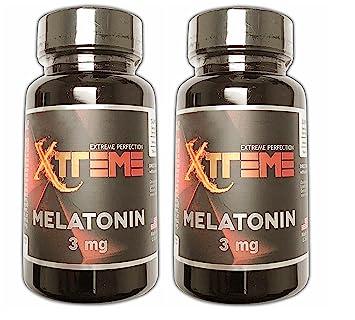 Pharmaceutical Grade Melatonin by Xtreme :: 3mg Tablets :: Better Sleep :: Brain