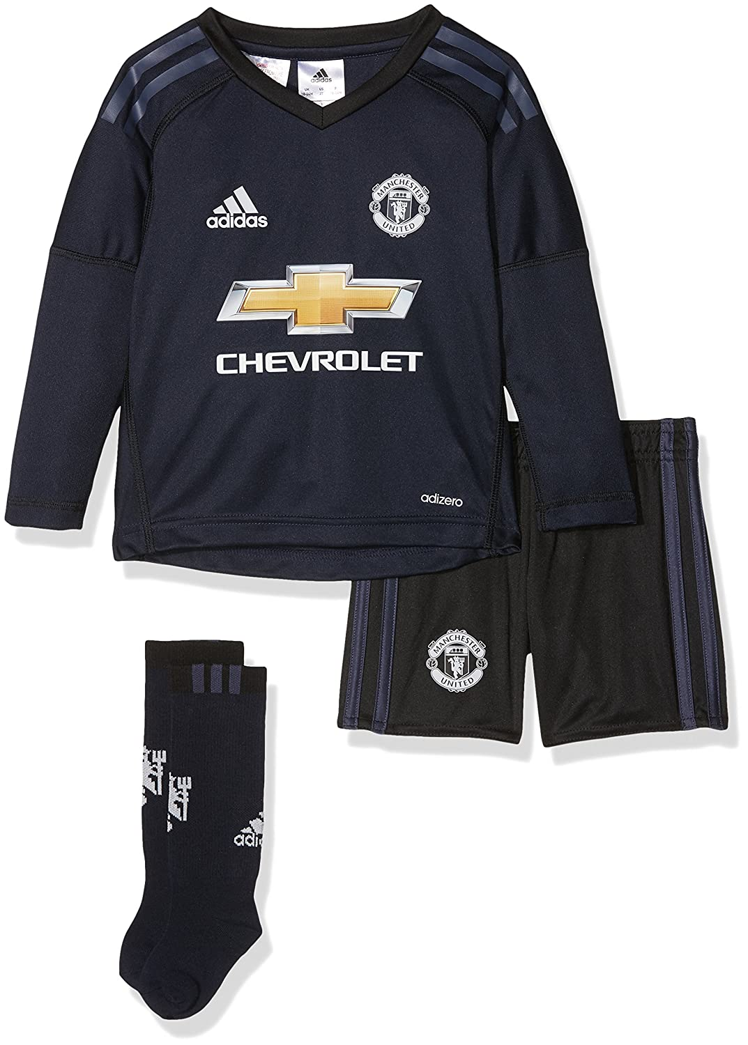 ADIDAS Kinder Manchester United Torwart Mini-heimausrüstung Kit